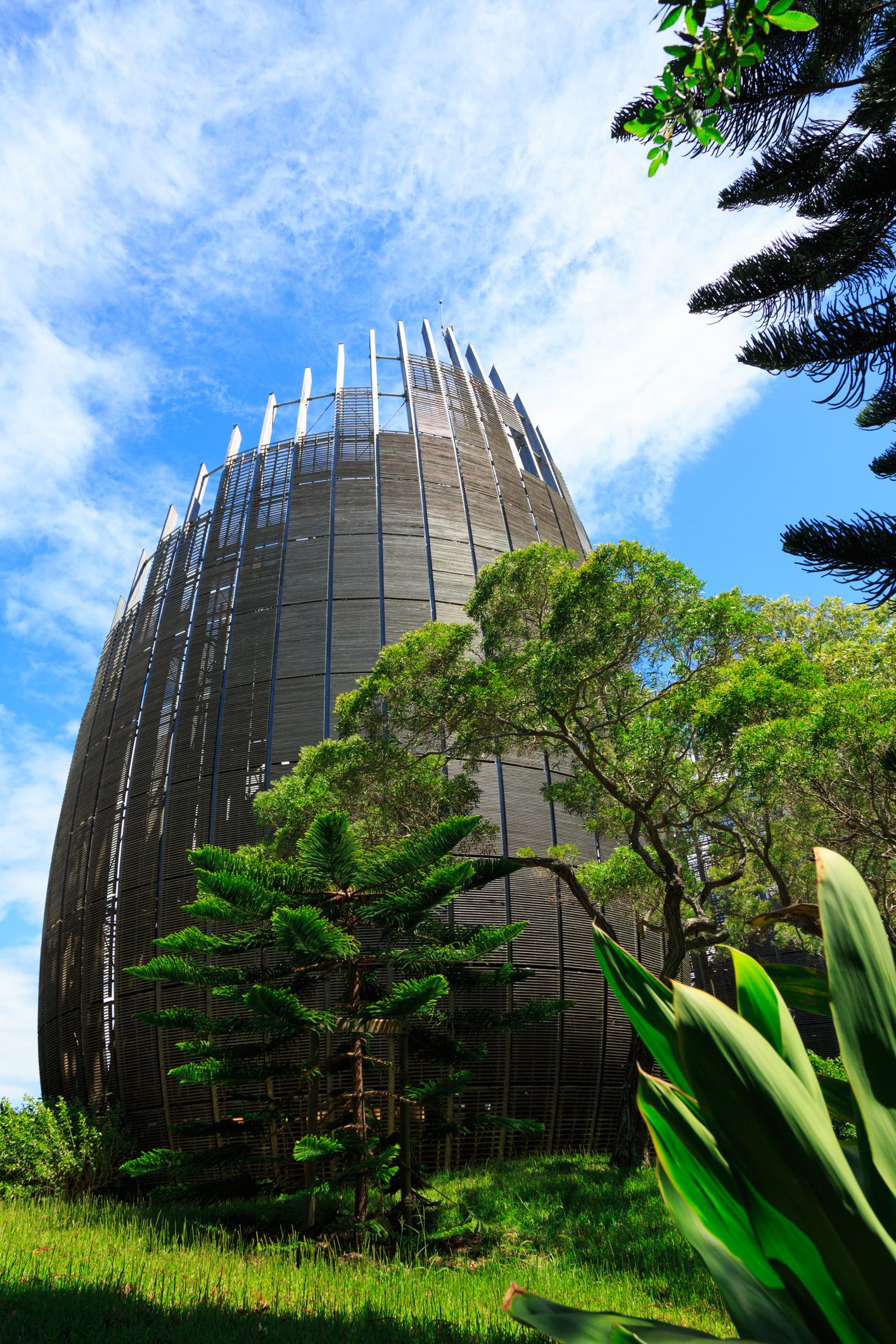 Tjibaou - centre culturel - Noumea