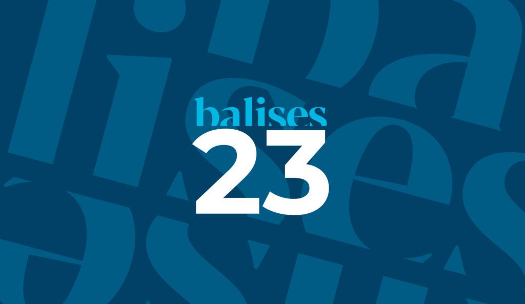 balises 23 Cover
